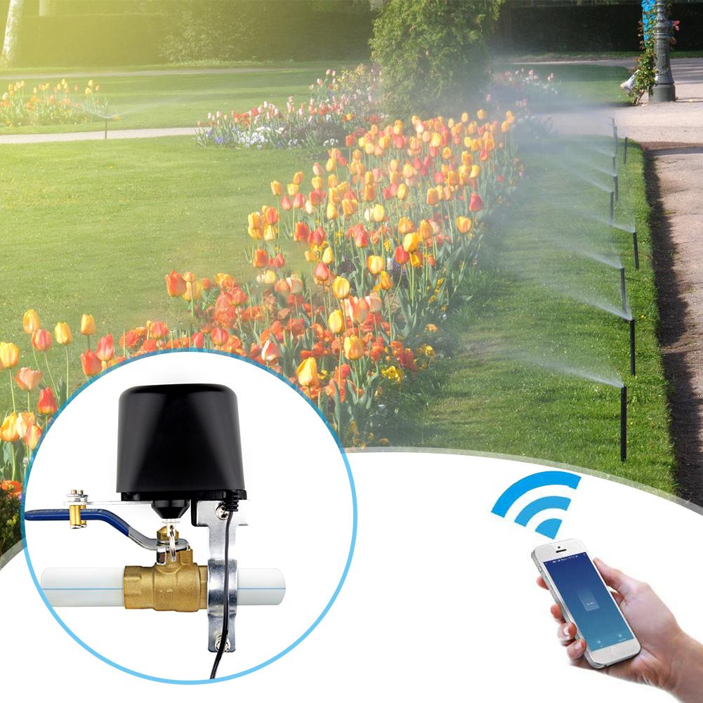 WiFi Smart Water Valve Smart Home Automation System Valve for Gas Water Control Excellent Craftsmanship Well Durability