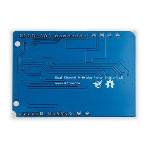 Image 5 - Motor de puente en H de doble canal Elecrow, controlador de Shield V1.5, IRF3205S, Motor de CC MOSFET 8A 22V Kit DIY electrónico