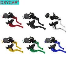 DSYCAR 1Set 22mm Universal Motorcycle Brake Pump Handle Hydraulic Cylinder Motorcycle Brake Clutch Motorcycle Brake Clutch Lever
