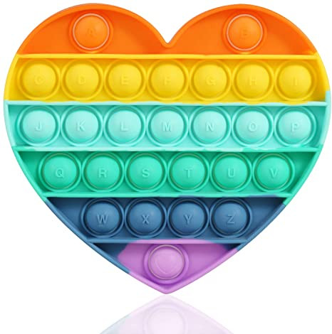 Reliever-Toy Rainbow Fidget Bubble-Sensory Emotions-Stress Anxiety Push Popit for OCD img3