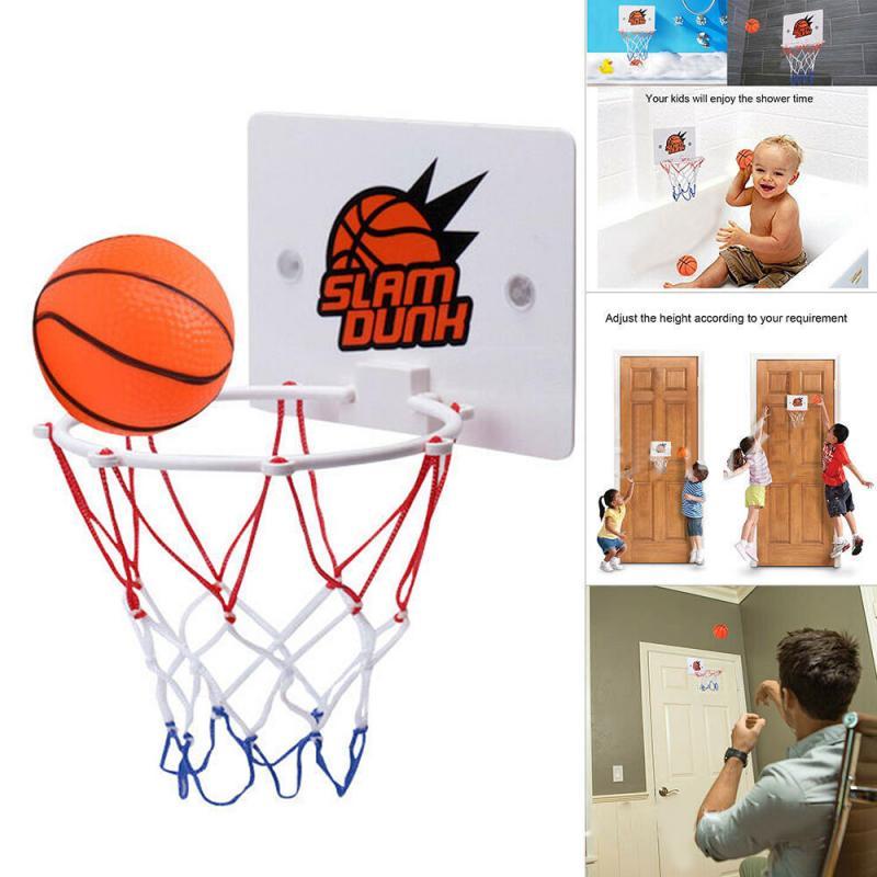 Набор для тренировки баскетбола для мальчиков, мини-баскетбольный комплект с маленьким насосом