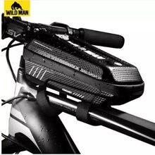 Сумка на верхнюю трубу велосипеда wild man компрессионный амортизирующий
