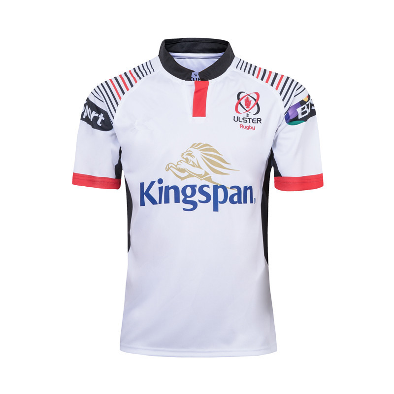 19-20 Sweat Absorbing Breathable Ulster Subject Olive Jersey Ulster Rugby Jerseys