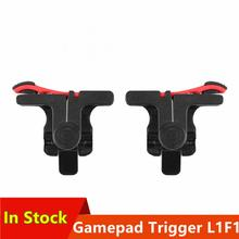 2pcs PUBG Moible Controller Gamepad Trigger Free Fire L1R1 PUGB Mobile Keypads Grip L1R1 Joystick For IPhone Android Phone cheap centechia CN(Origin) None Other Support