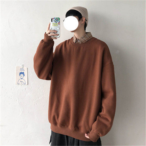 loose Korean style plus size sweatshirt winter clothes streetwear women 2020 new fashion plus velvet oversize harajuku hoodie 8