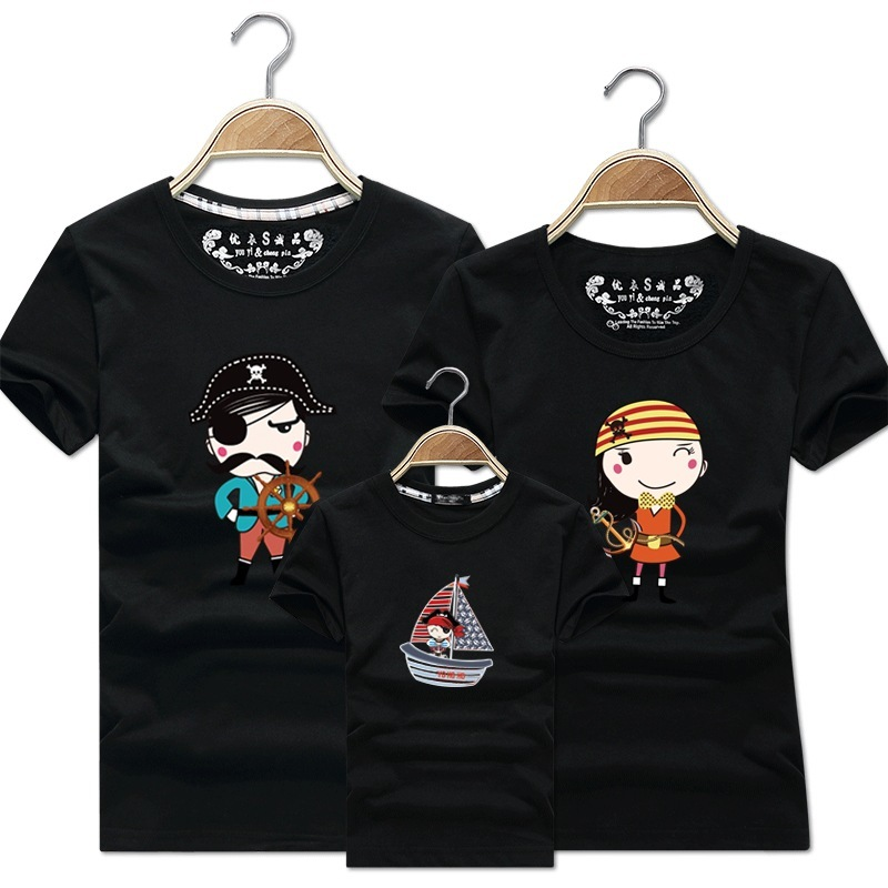 Pirate Mum Pirate Girl Mummy Mom Mother Daughter Family Matching T shirt Outfit