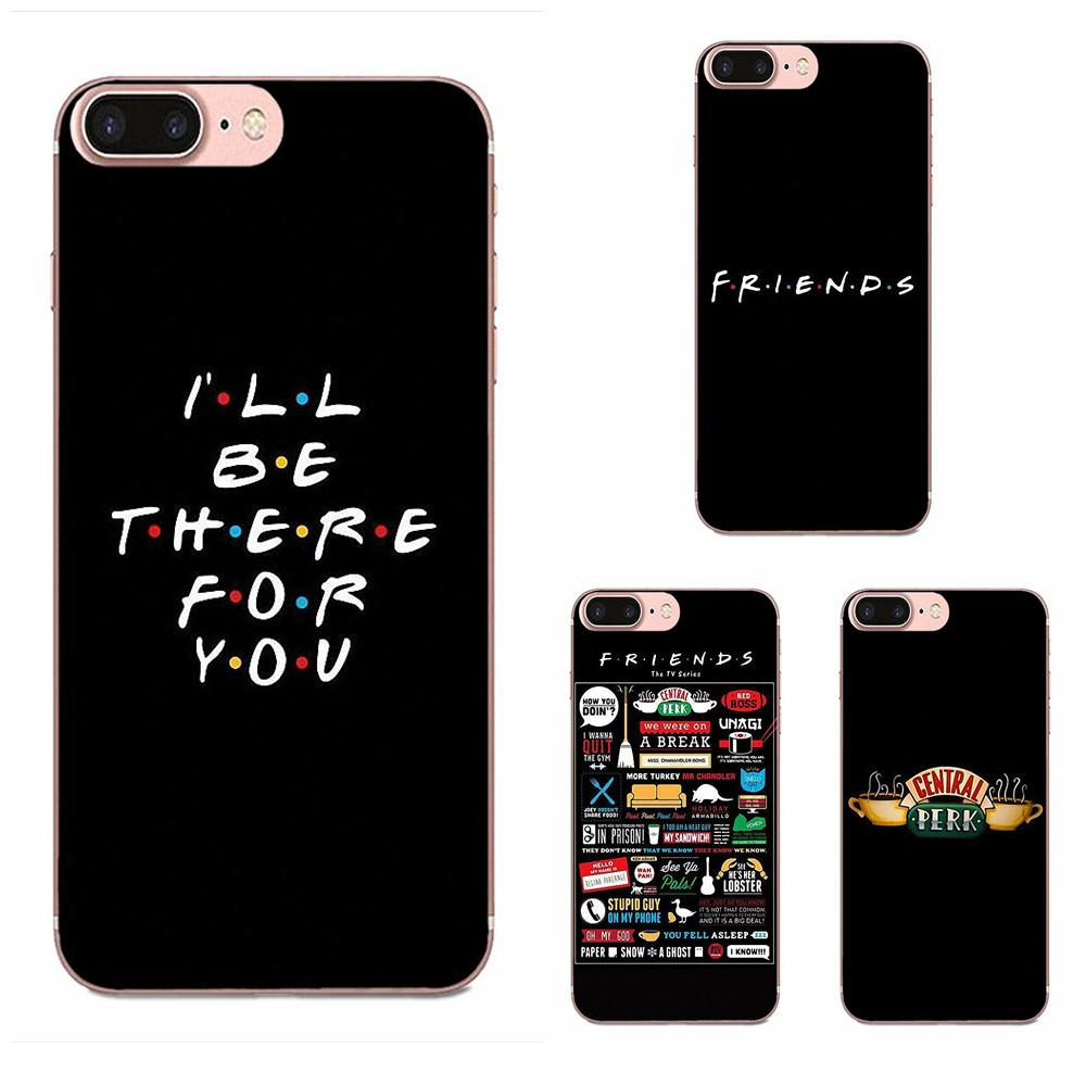 TPU Art Cover Case Friends Season Tv For Motorola G G2 G3 G4 G5 G6 G7 Plus For Xiaomi Redmi Note 8 8A 8T 10 K30 5G Pro image
