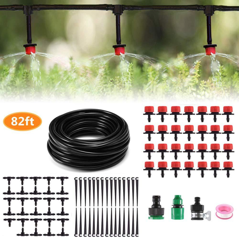 Micro Drip Irrigation System Garden Hose Dripper Connector Kit Plant Automatic Watering Kit System капельный полив