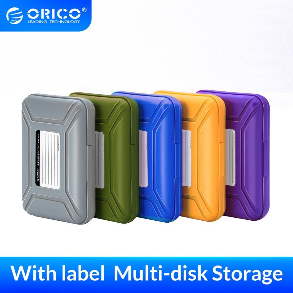 ORICO harici sabit disk HDD koruma kutusu 3.5 inç saklama çantası etiket su geçirmez fonksiyonu