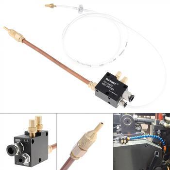 Precyzyjny System smarowania mgłą chłodzącą z 20cm rura miedziana i zawór zwrotny maszyna do cięcia metalu tokarka cnc tanie i dobre opinie ChgImposs Other HMX_MTA_10O Nowy