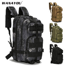 20-30l mochila militar, masculino tático caminhadas trekking hunnting mochila, exército ao ar livre molle saco de esportes para acampamento escalada