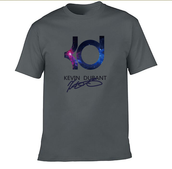free shipping Kevin Durant t <font><b>shirts</b></font> <font><b>KD</b></font> logo man and Cotton t <font><b>shirts</b></font> Summer 2019 T-<font><b>shirt</b></font> M2019 image