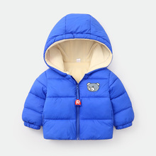 цена на Kids Toddler Boys Jacket Coat Children Clothing Hooded Outerwear Baby Girls Clothes Autumn Winter Jackets For Boys Windbreaker