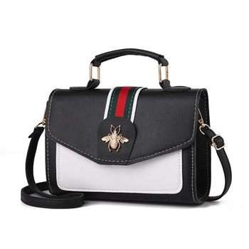 Designer women contrast handbag Cross Body bag 2020 New classic flap bag Leather Messenger Shoulder Bag Ladies Purses Handbags цена 2017