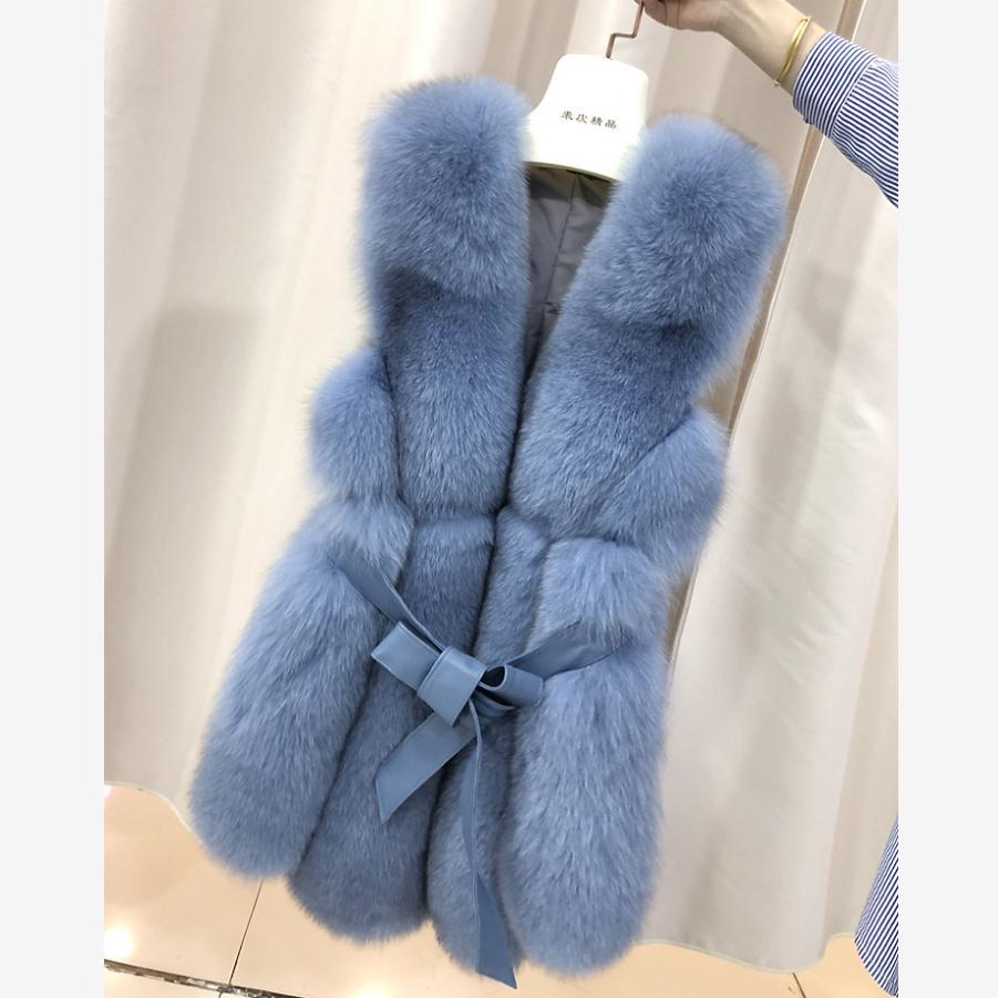 4-12 Year Children's Faux Fur Vest Coat Imitation Rex Rabbit Fur Girls Thicker Warm Waistcoat Modis Kids Clothes Jacket Y2119