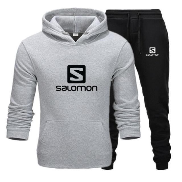 2020 Autumn Winter Brand Men Hoodies + Pants Tracksuits Casual Sets