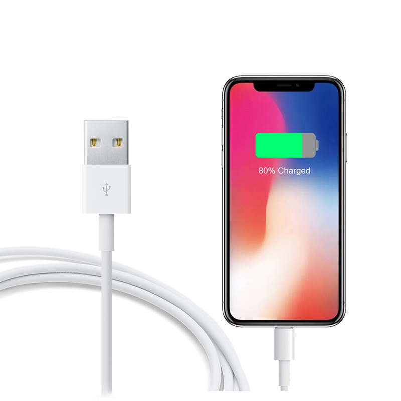 8 Pin to USB Charge Data Cable for Apple iPhone 11 XR XS Max 5s 6 6s 7 8 Plus iPad Pro mini Air iPod 2.4A Fast Charging