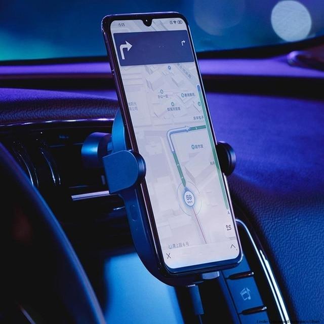 Xiaomi Mi 20W Max Qi Wireless Car Charger WCJ02ZM with Intelligent Infrared Sensor Fast Charging Car Phone Holder dropshipping 2