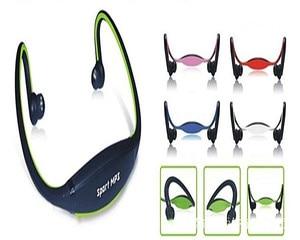 Image 3 - Fones de ouvido sem fio esportivos, headset com cartão tf e reprodutor de música mp3, rádio fm, envio direto