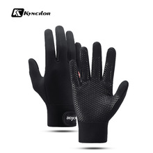 Gloves Outdoor-Sport Winter Women for Windproof Simulated Warm-Eldiven Bike Bicycle Touch-Screen