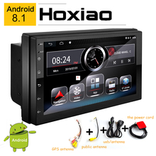2 Din 7'' FM Car Radio Android Stereo Bluetooth Auto Radio 1080p GPS AM WIFI GPS