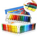 12/24 colores 15 ml pintura acrílica Set pintura de Color para ropa de tela pintura de dibujo de vidrio de uñas para niños suministros de arte impermeables