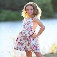 Популярное платье для девочек в европейском и американском стиле;