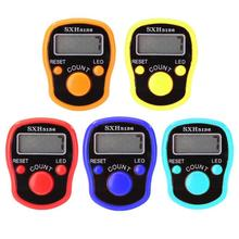 Plastic LCD Display Finger Counter LED Luminous Electronic Tally Counter