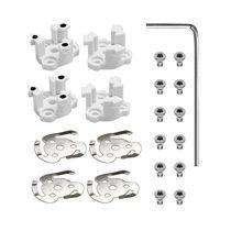 4 pçs adereços base de hélice de montagem para dji phantom 4 pro vantagens p4p zangão peças suporte da lâmina montagem acessórios de substituição