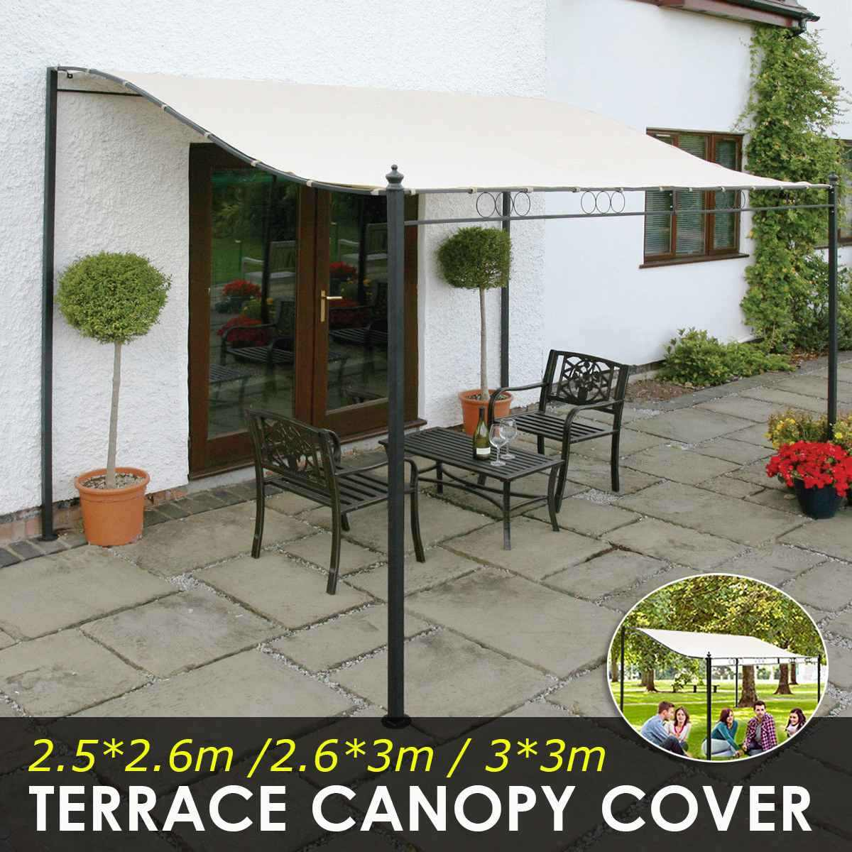 tent canopy roof cover patio waterproof