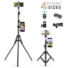 Tripé do telefone móvel suporte de fotografia universal para gopro iphone samsung xiaomi huawei telefone alumínio viagem tripode para