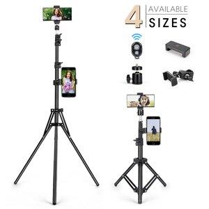 Мобильный телефон штатив-Трипод стойка Универсальный фон для фотосъемки для Gopro для iPhone, Samsung, Xiaomi, Huawei, алюминиевая рамка для путешествий шт...