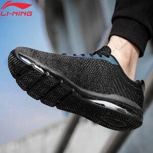 Image 2 - Li Ning 남자 버블 최대 클래식 라이프 스타일 신발 쿠션 스 니 커 즈 LiNing li ning 통기성 피트 니스 스포츠 신발 AGCN075 YXB134