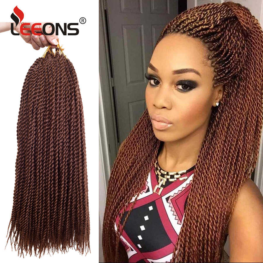 Senegalese Twist Crochet Braid Hair