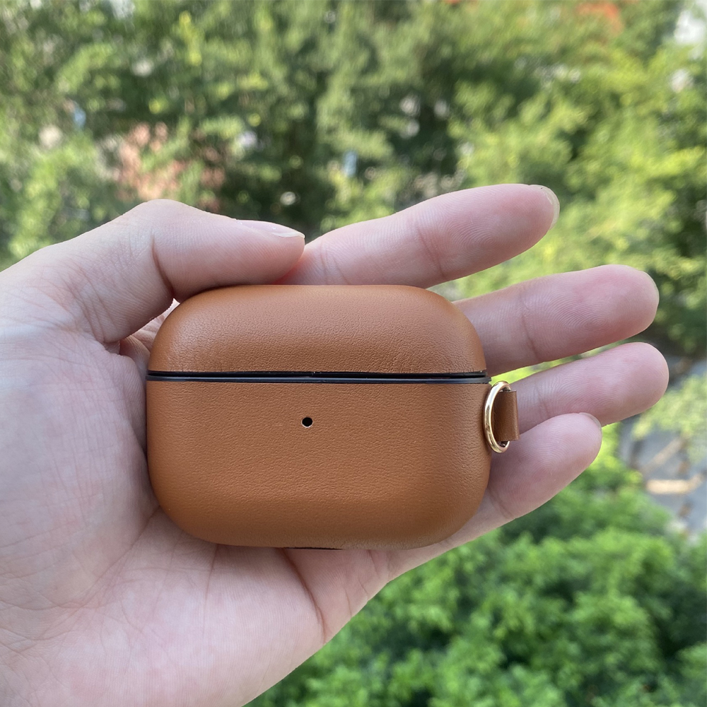Genuine Leather Case for AirPods Pro 3
