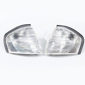 Image 3 - Cooyidom claro sinal de volta lâmpadas led espelho luzes de canto automático para mercedes benz c classe w202 1994 2000 1995 1996 acessórios