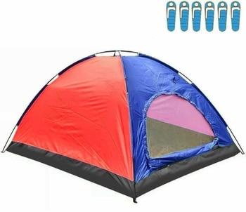Tienda de Campaña para 6 Personas, Impermeable, acampada, Carpa, OFERTA