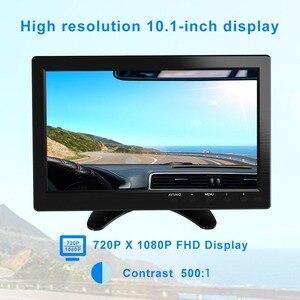 """Image 3 - FSU Portable Display Monitor 1024*600 LCD Monitor Full View HDMI VGA AV Industrial Capacitive 10.1"""" Car Rear View Monitor"""