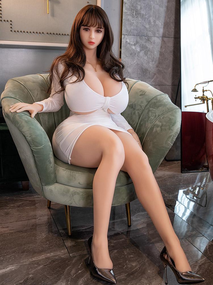 He65d0c00a644422792ae78d1c7de364bc Hanidoll-Muñeca sexual de 164cm para hombres adultos, juguetes para sexo, TPE, coño realista, Real, gran trasero, pechos grandes, productos sexuales