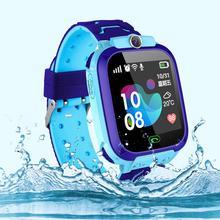 1 sztuk dzieci inteligentne zegarki Anti-lost bezpieczne LSB Tracker SOS otrzymać telefon zwrotny od dzieci inteligentny wodoodporny zegarek dla Android IOS z kamerą otrzymać telefon zwrotny od tanie tanio 3Bar DRESS Cyfrowy Kamienie szlachetne i kamienie Składane bezpieczne zapięcie CN (pochodzenie) Z żywicy Papier -----mm