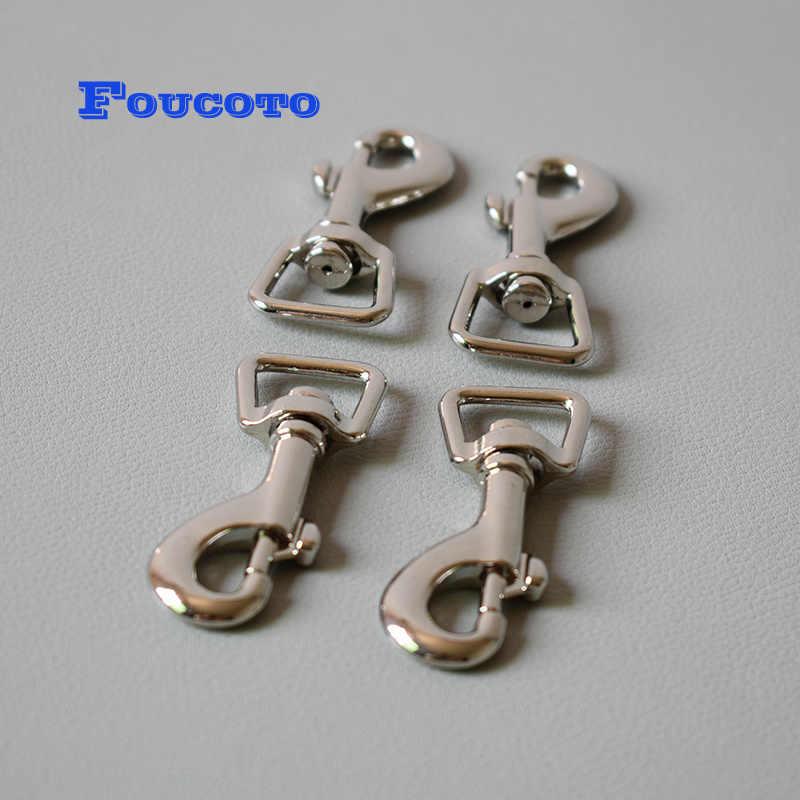 200 zestawów metalowa klamra pasek na karabińczyk zaczep do paska regulator brelok z klamrą D pierścienie łańcuszek na psa połączenie klamry zatrzaskowe