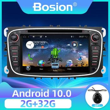 Bosion Android 10 car dvd for Ford Mondeo focus S-max smax Kuga c-max gps intelligent radio video wifi BT SWC multimedia player