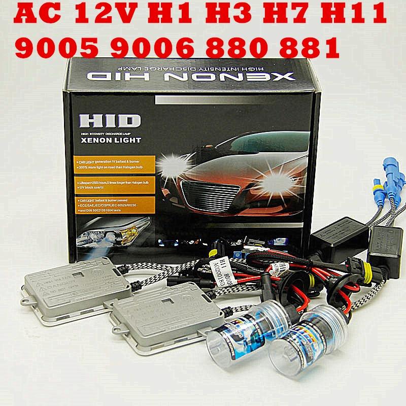 Ca 55w 12v h4 bi xénon hid kit H4-3 Bi xénon H4 Bi xénon H4 Hi/lo Bixenon h4 kit faisceau unique H1 H3 H7 9005 9006 H11 880 881 KIT