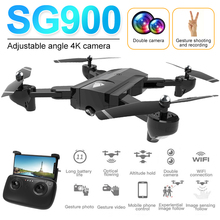 Foldable RC Drones with Dual Camera HD 1080P/4K RC Quadcopte