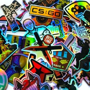 50 PCS Pack CS GO Game Laser S