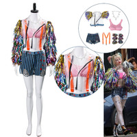 Birds Of Prey Cosplay Costume The Fantabulous Emancipation Of One Quinn Cheerleader Dress Adult Women Halloween Outfit