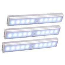 Wireless-LED Unter Kabinett Licht PIR Motion Sensor Lampe 6/10 LEDs für Schrank Schrank Schrank Küche Beleuchtung Led Nacht Licht