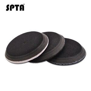 Image 5 - SPTA قرص تلميع جينز ، 6 بوصات (150 مللي متر ، قرص إزالة قشر البرتقال ، سروال قصير ، طقم وسادة تلميع للسيارة للوحة دعم 5 بوصات