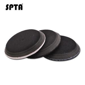 Image 5 - SPTA – disque de polissage pour Denim de 6 pouces (150mm), plateau pour enlever la peau dorange, Kit de tampons de polissage pour voiture en velours côtelé pour plaque de support de 5 pouces