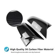 ABS Carbon Fiber Black White Rearview Side Mirror Covers cap Replacement for M3 f32 f30 f31 f33 f36 f34 E84 F87 Wing Cover Caps universal replacement carbon fiber mirror cover for bmw rearview door mirror covers x1 f20 f22 f30 gt f34 f32 f33 f36 m2 f87 e84
